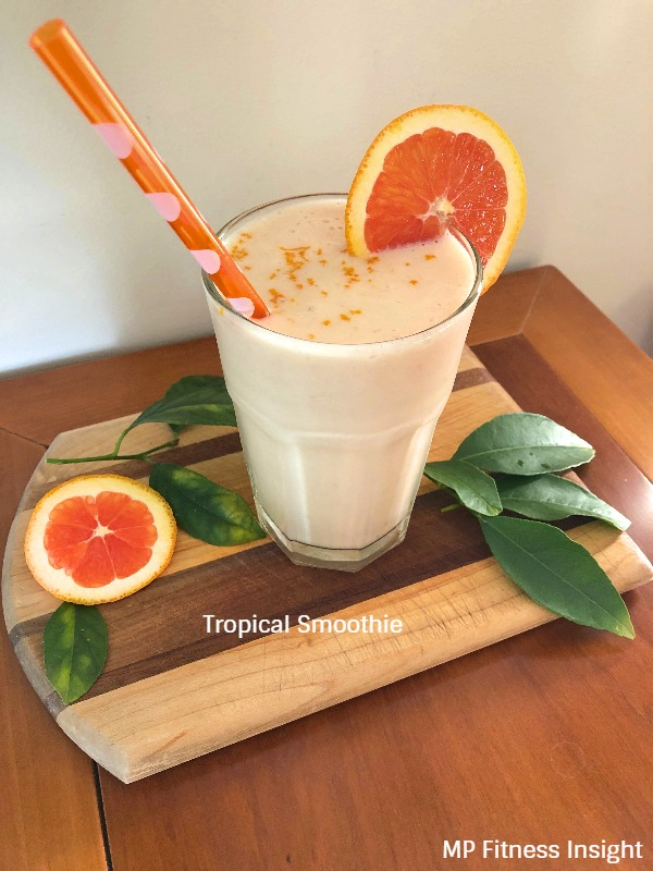 Tropical Smoothie - Delish!